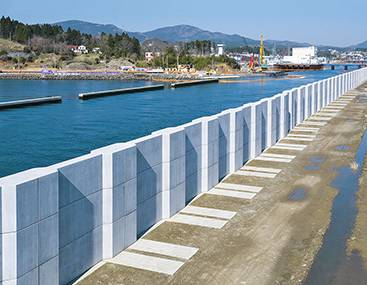 Hybrid Caissons And L Shaped Caissons For Quay Walls Bridges Steel Structures Products Services Jfe Engineering Corporation